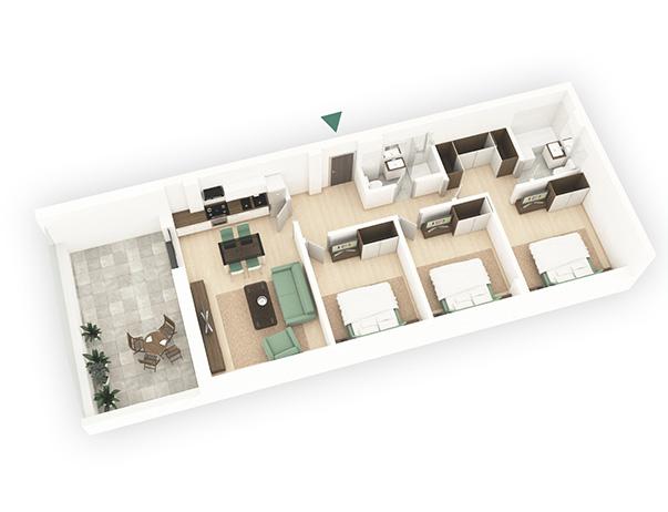 Apartamente 4 camere