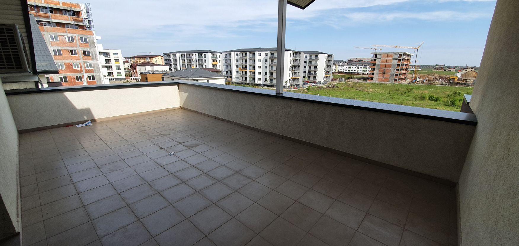 Bloc 2 - Mansarda - Apartament 19 - Terasa